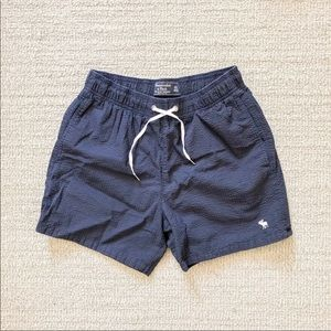 Abercrombie & Fitch blue shorts